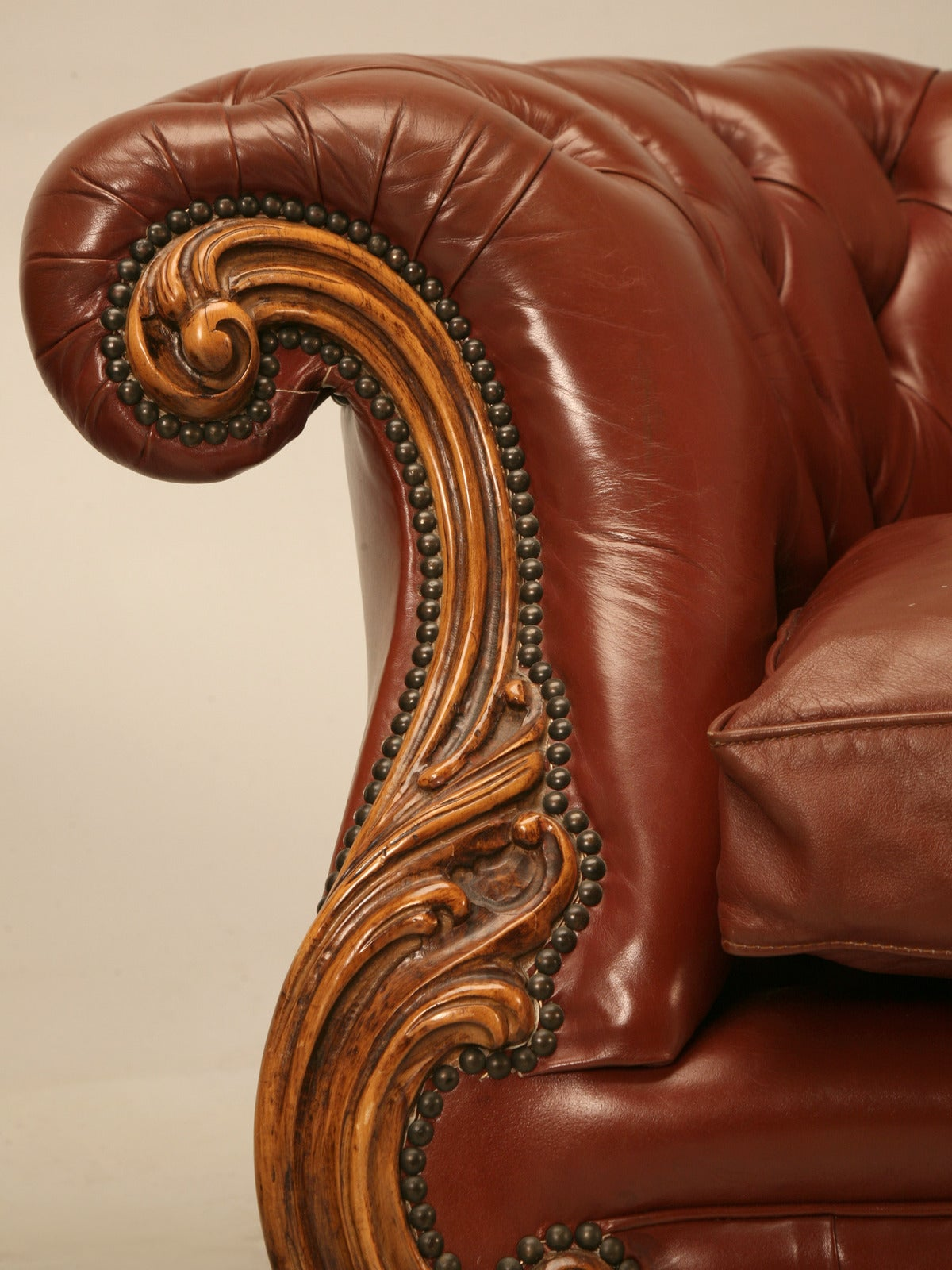 Chesterfield Sofa Krefeld French Leather Chesterfields Armchairs With A Bit Of A
