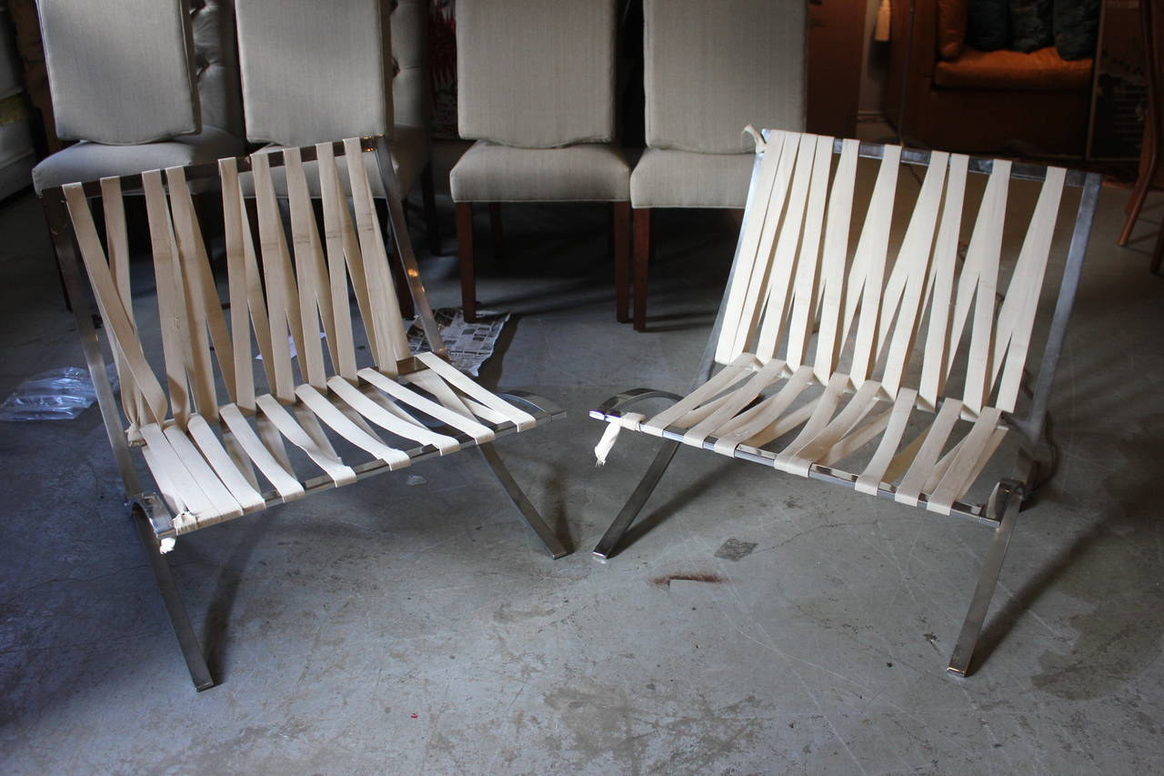 Barcelona Chair Frames For Sale At 1stdibs
