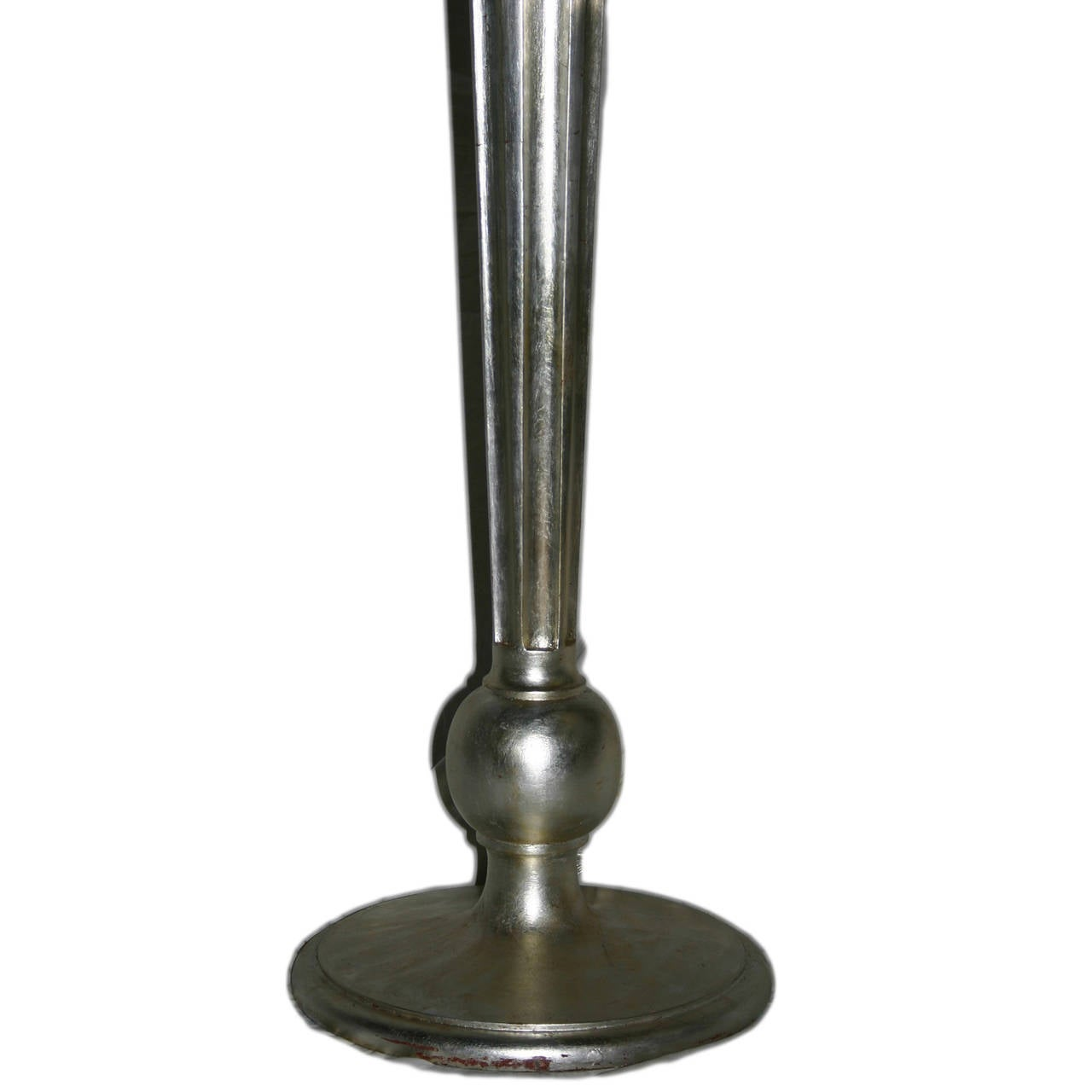 Large Lamps For Sale Pair Of Large Neoclassic Silver Floor Lamps For Sale At