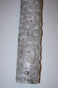 Horizontal Glass Sconce at 1stdibs
