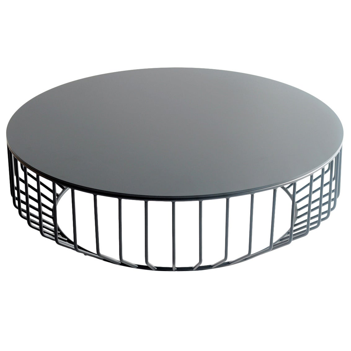 Couchtisch Wire Wired Coffee Table Steel Top By Phase Design