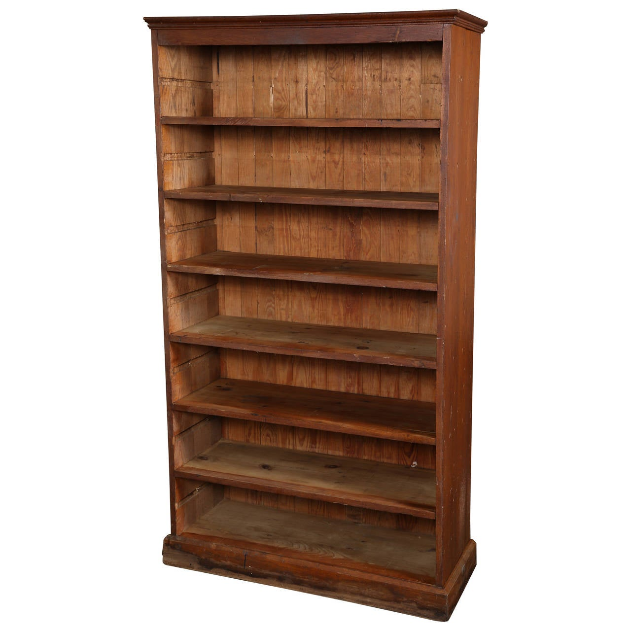 Vintage Wooden Bookcase For Sale At 1stdibs