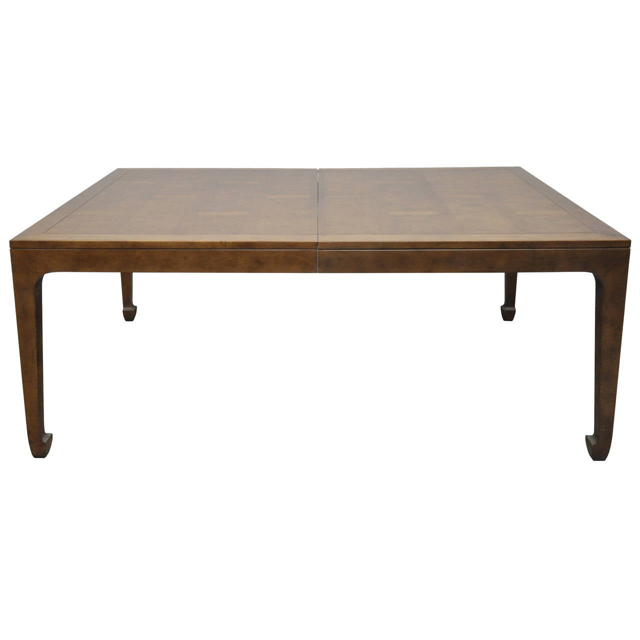Japanese Style Kitchen Tables Baker Furniture Asian Style Mid Century Dining Table W 3