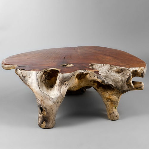 Couchtisch French Narra Wood Low Centre Table By Alex Cayet, France At 1stdibs