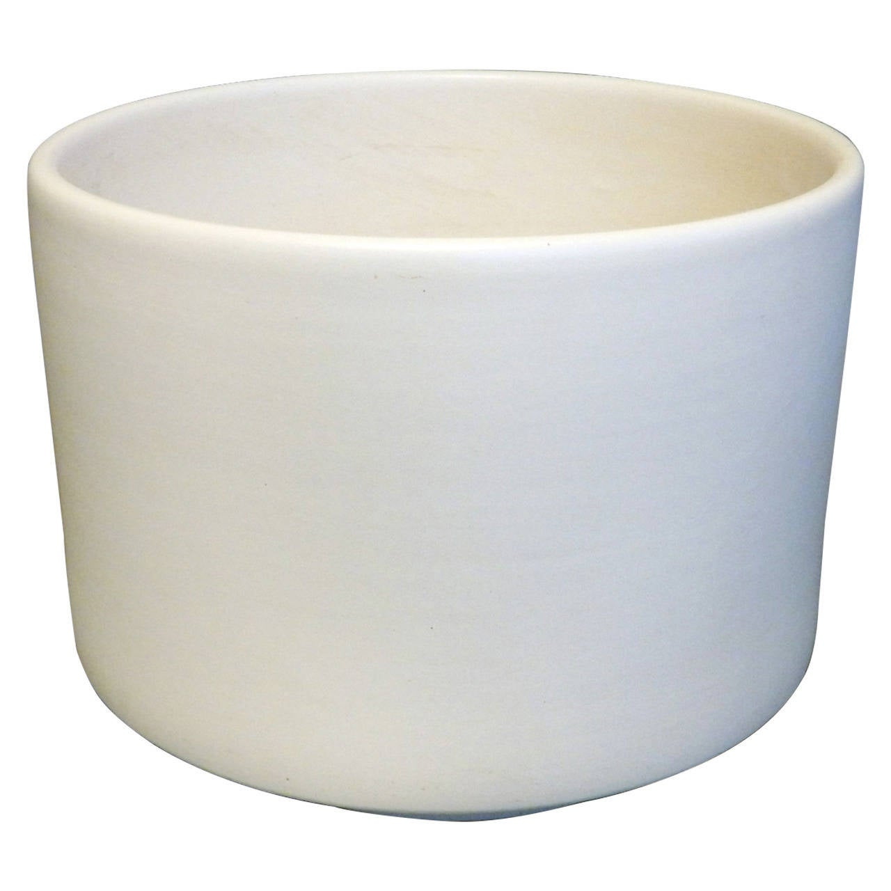 Small White Ceramic Planters Large Matte White Planter Pot In The Style Of
