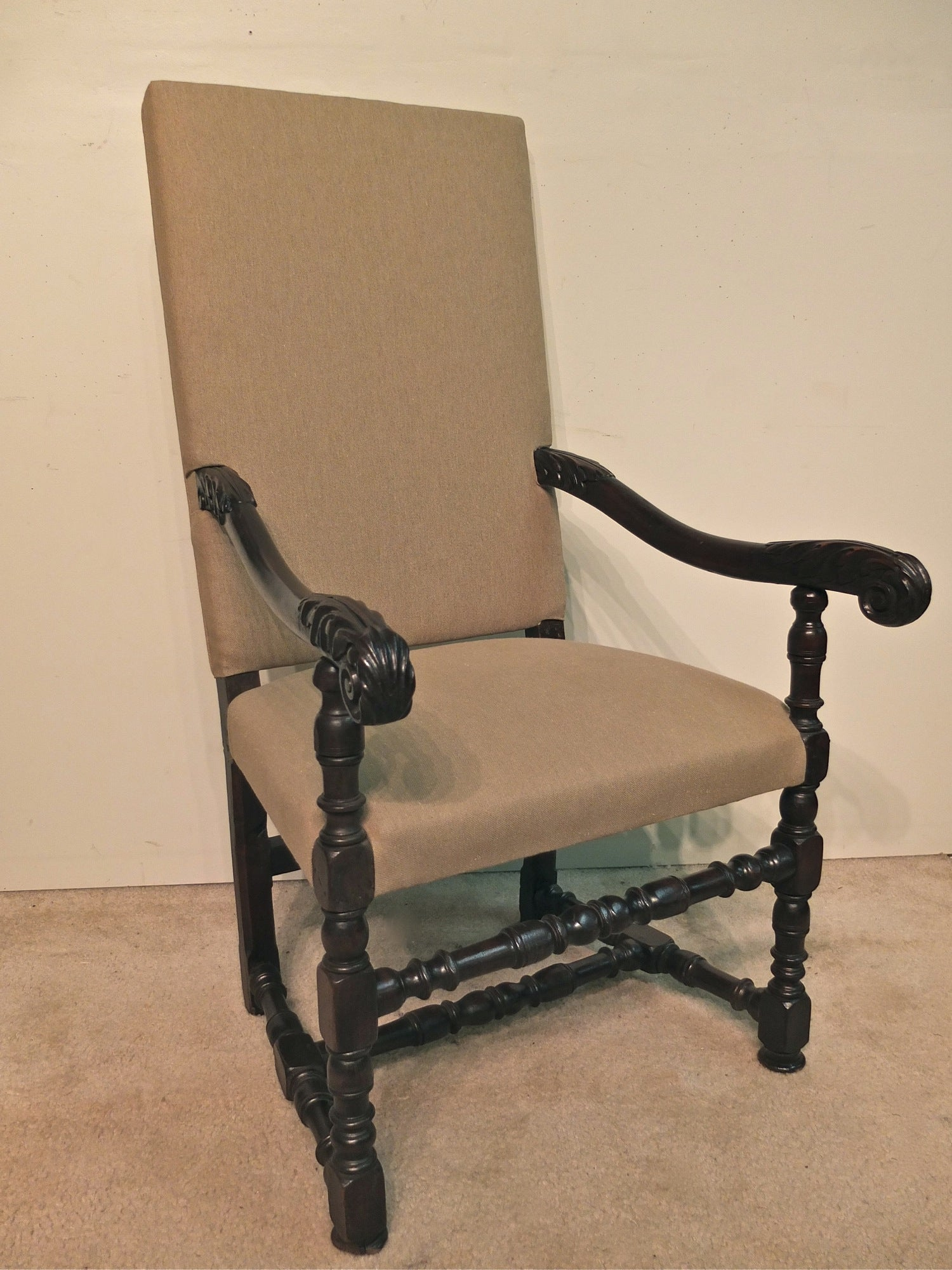 Fauteuils Louis 13 French Louis Xiii Style Fauteuil Or Arm Chair