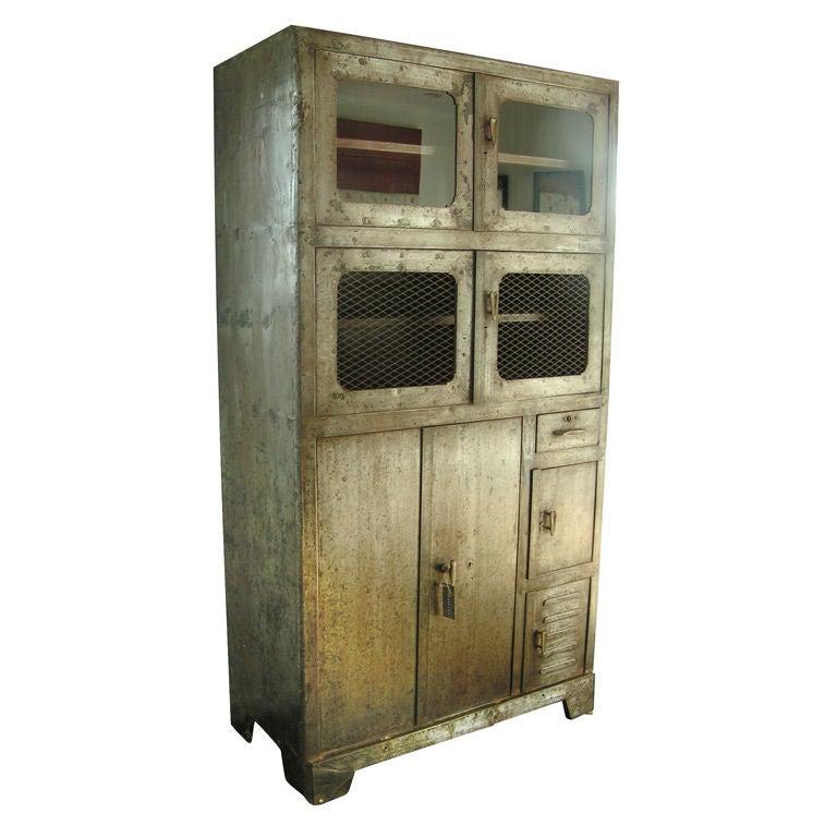 Vintage Metal Storage Cabinet C 192039s For Sale At 1stdibs