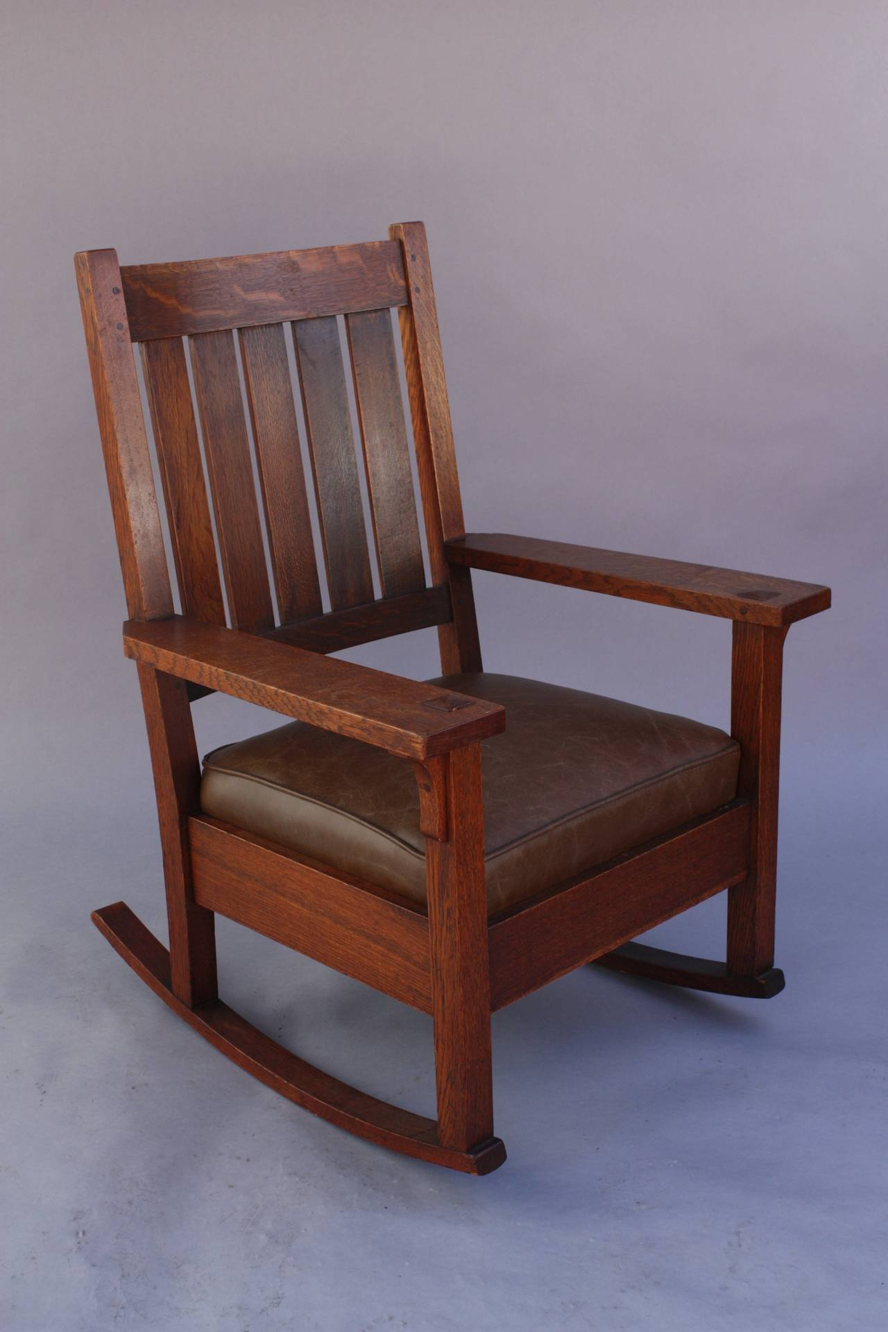 Rocking Chair Eames Rocker Attributed To Gustav Stickley, Circa 1910 At 1stdibs