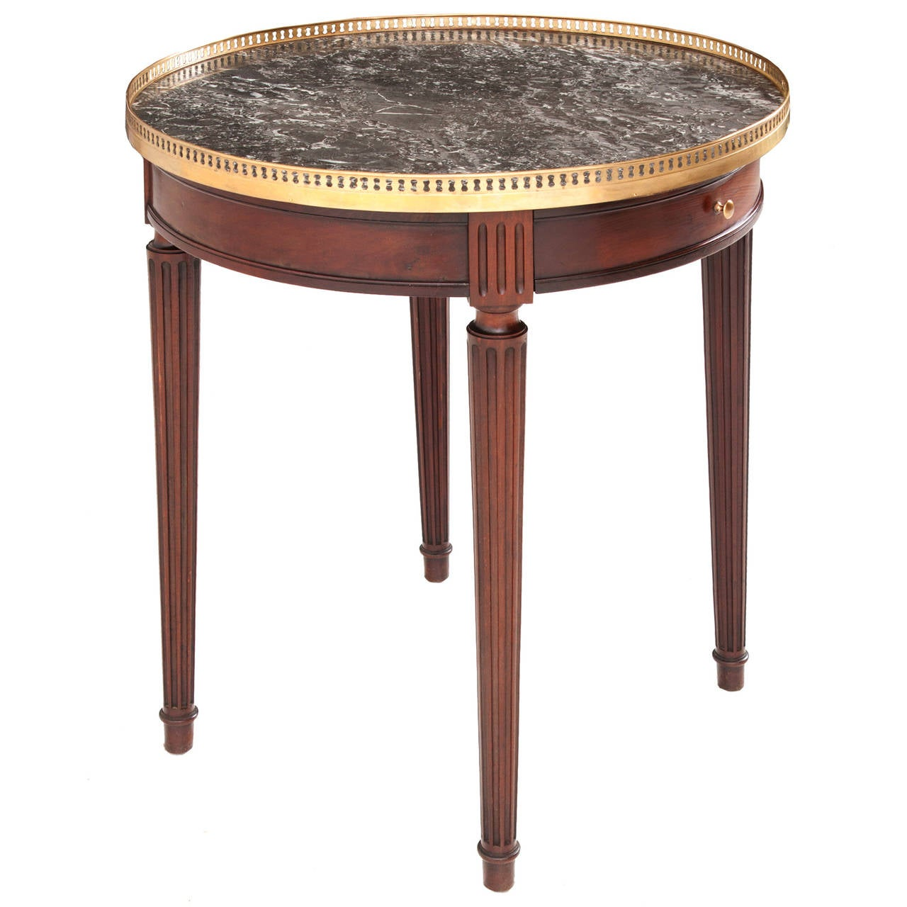 Gueridon Table French 19th Century Louis Xvi Gueridon Table At 1stdibs