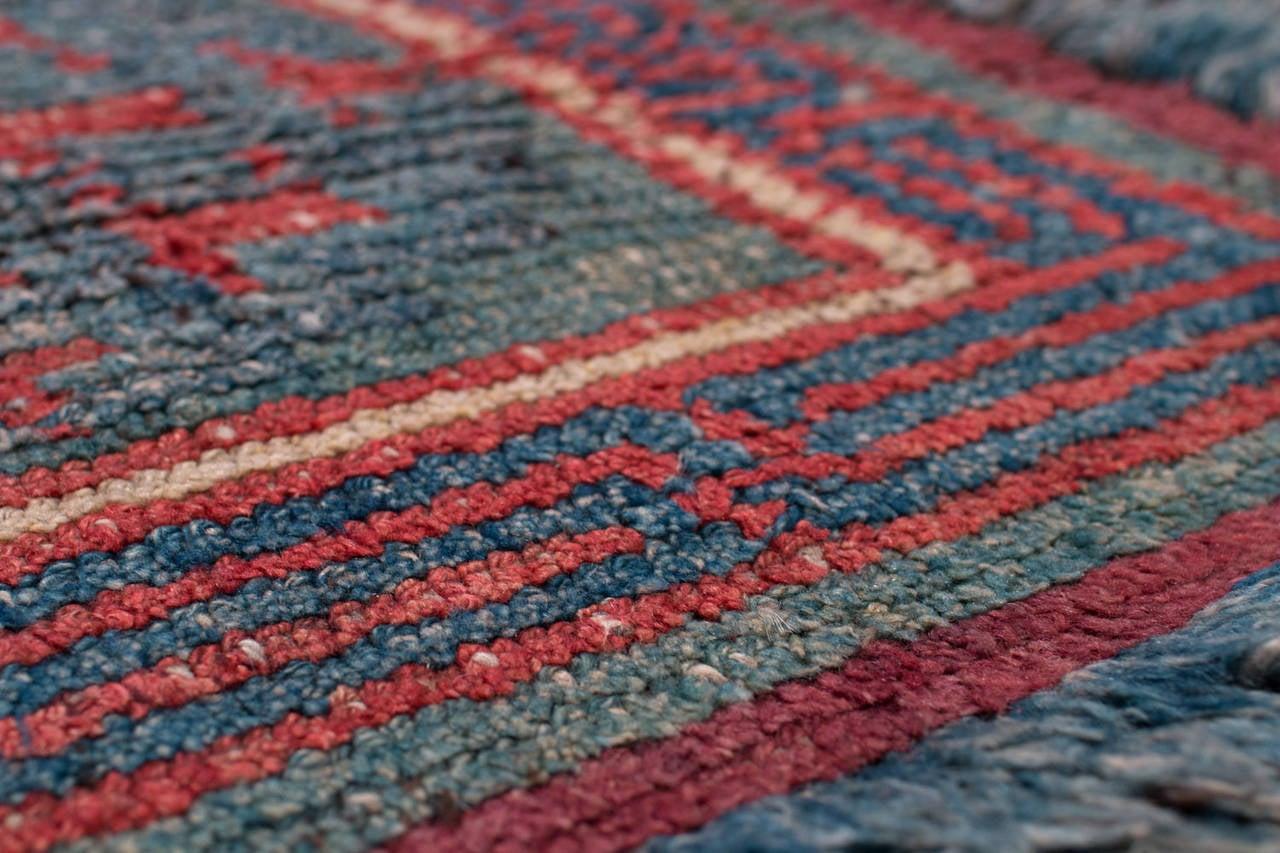 Tibetan Good Fortune Carpet At 1stdibs