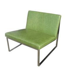 B 2 Lounge Chair Designed by Fabien Baron for Bernhardt in Green