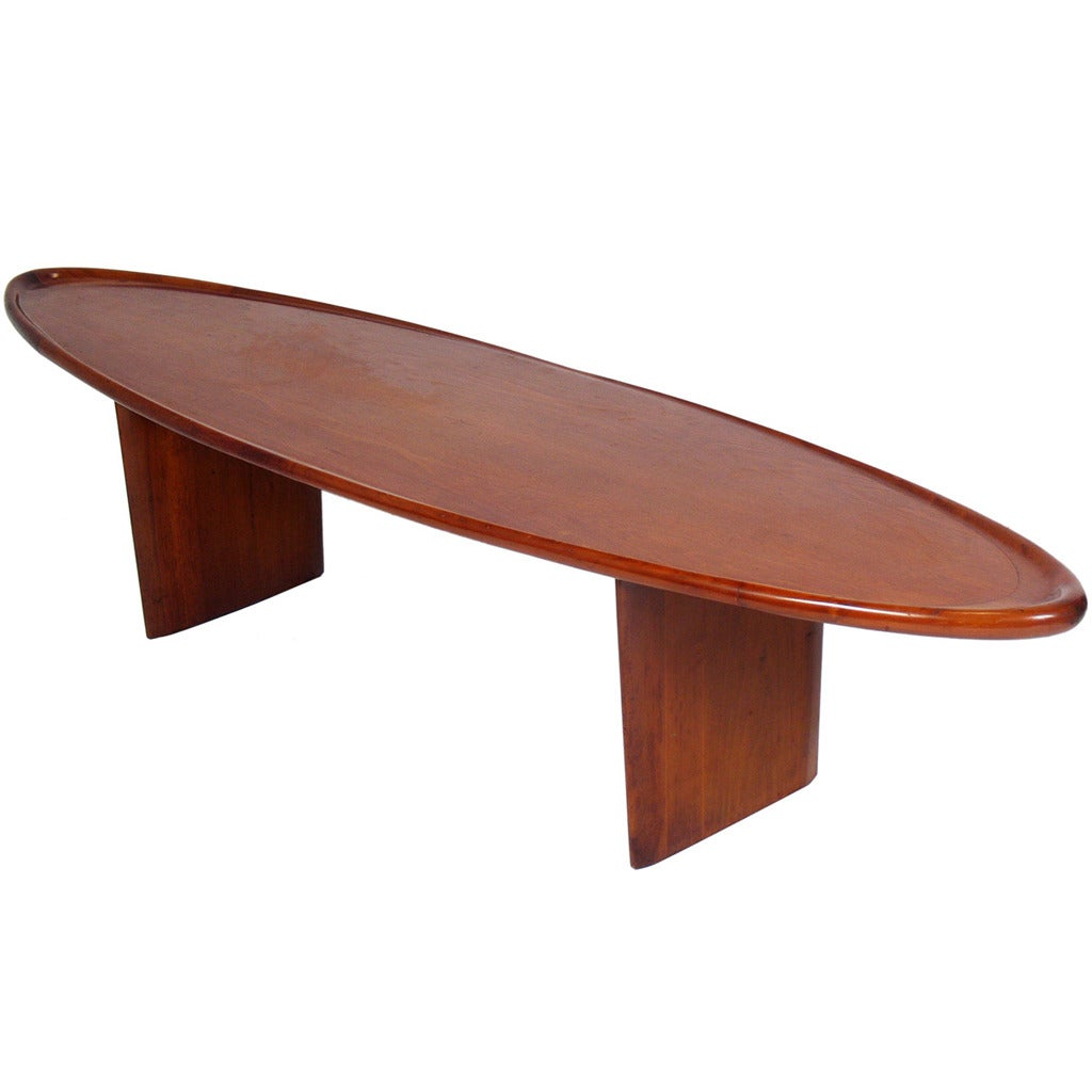 Surfboard Tables For Sale Surfboard Coffee Table Designed By T H Robsjohn Gibbings