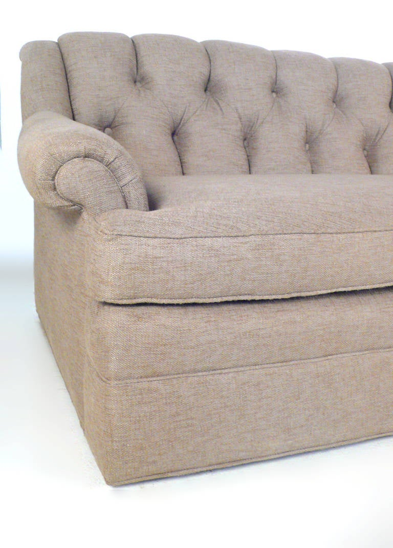 Sofa 8 Way Hand Tied Springs Harvey Probber Party Sofa For Sale At 1stdibs