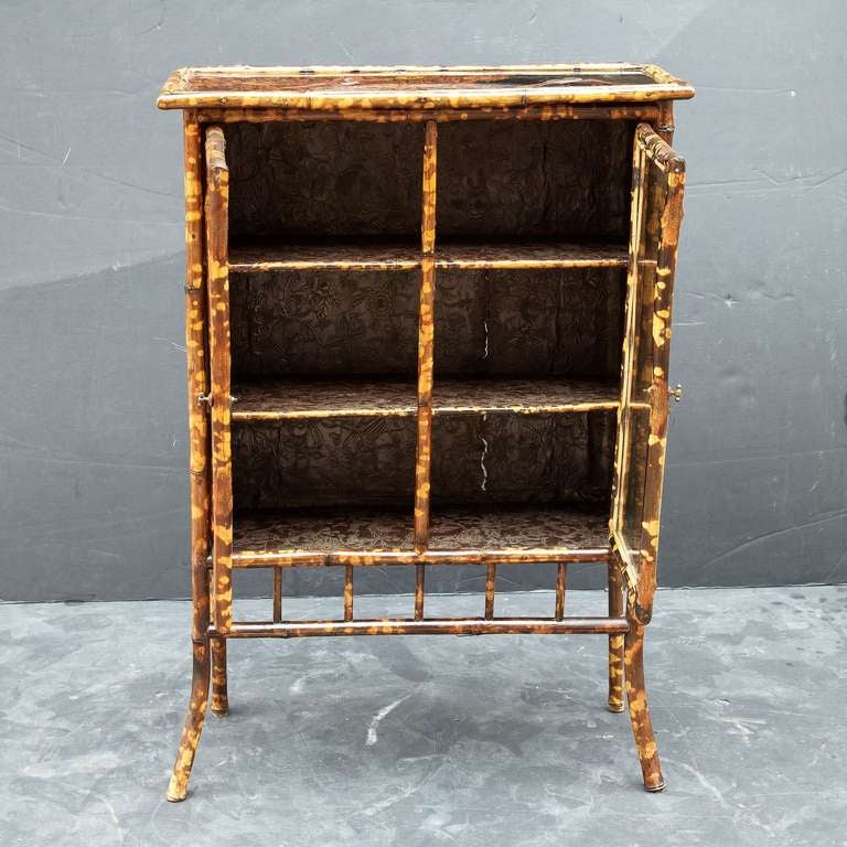 Bambus English English Bamboo Bookcase At 1stdibs