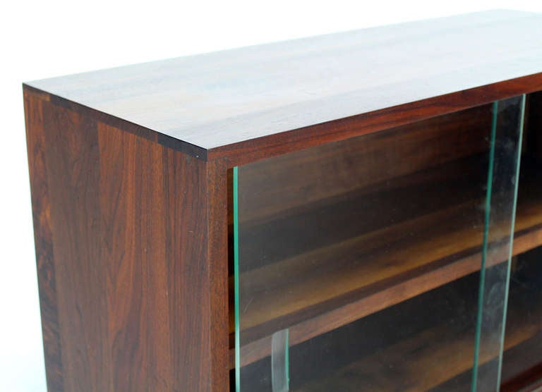 Mid Century Modern Solid Walnut Hanging Shelf Or Bookcase
