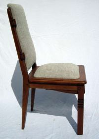 Chairs Designed by Charles Dudouyt For Sale at 1stdibs