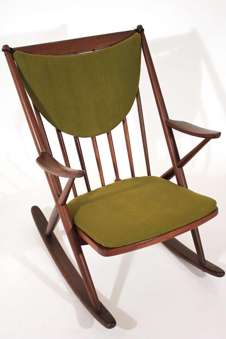 Frank reenskaug rocking chair denmark 2