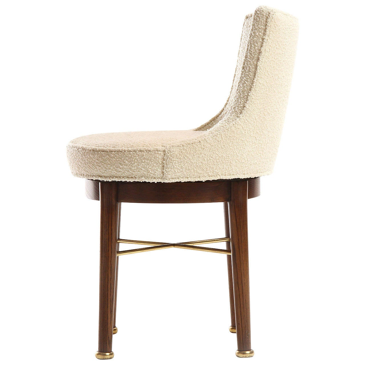Vanity Chair For Sale Swiveling Vanity Chair By Edward Wormley For Sale At 1stdibs