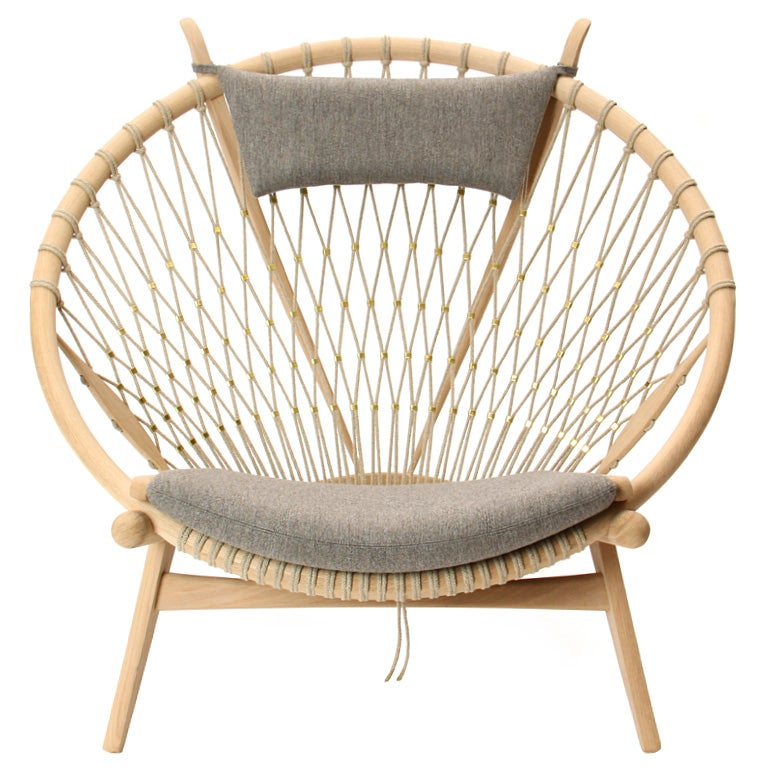 The circle chair by hans j wegner for sale at 1stdibs