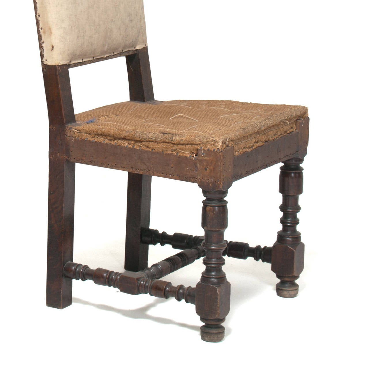 Louis The 14th Furniture Pair Of Louis Xiv Hall Chairs At 1stdibs
