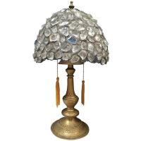 Rock Crystal Table Lamp at 1stdibs