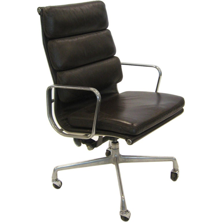 Eames Soft Pad Eames Soft-pad Executive Chair By Herman Miller At 1stdibs
