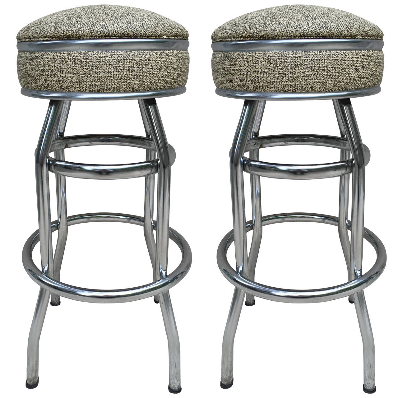 Bar Stools For Sale Pair Art Deco Swivel Bar Stools