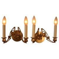 Pair of 19th Century Art Nouveau Wall Sconces at 1stdibs