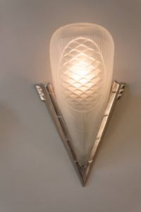 Pair of French Art Deco Wall Sconces at 1stdibs