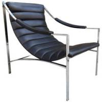 Pair of High Back Mission Chairs in the Style of Charles ...