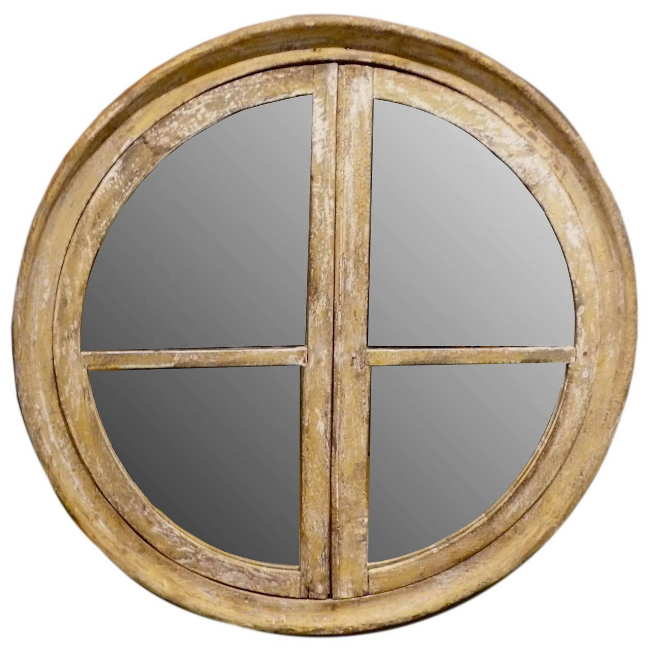 Round Mirrors For Sale Round Wooden Frame Mirror For Sale At 1stdibs