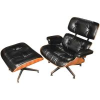 Iconic Eames Rosewood Lounge Chair and Ottoman at 1stdibs