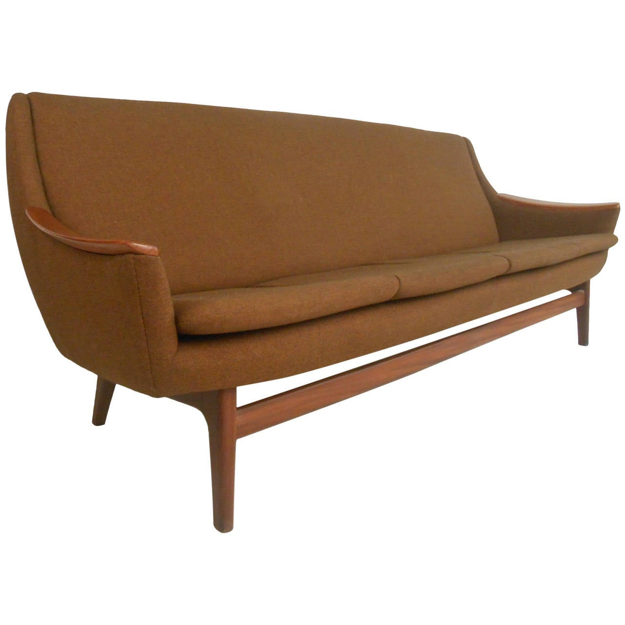 Scandinavian Furniture Sale Long Scandinavian Modern Sofa For Sale At 1stdibs