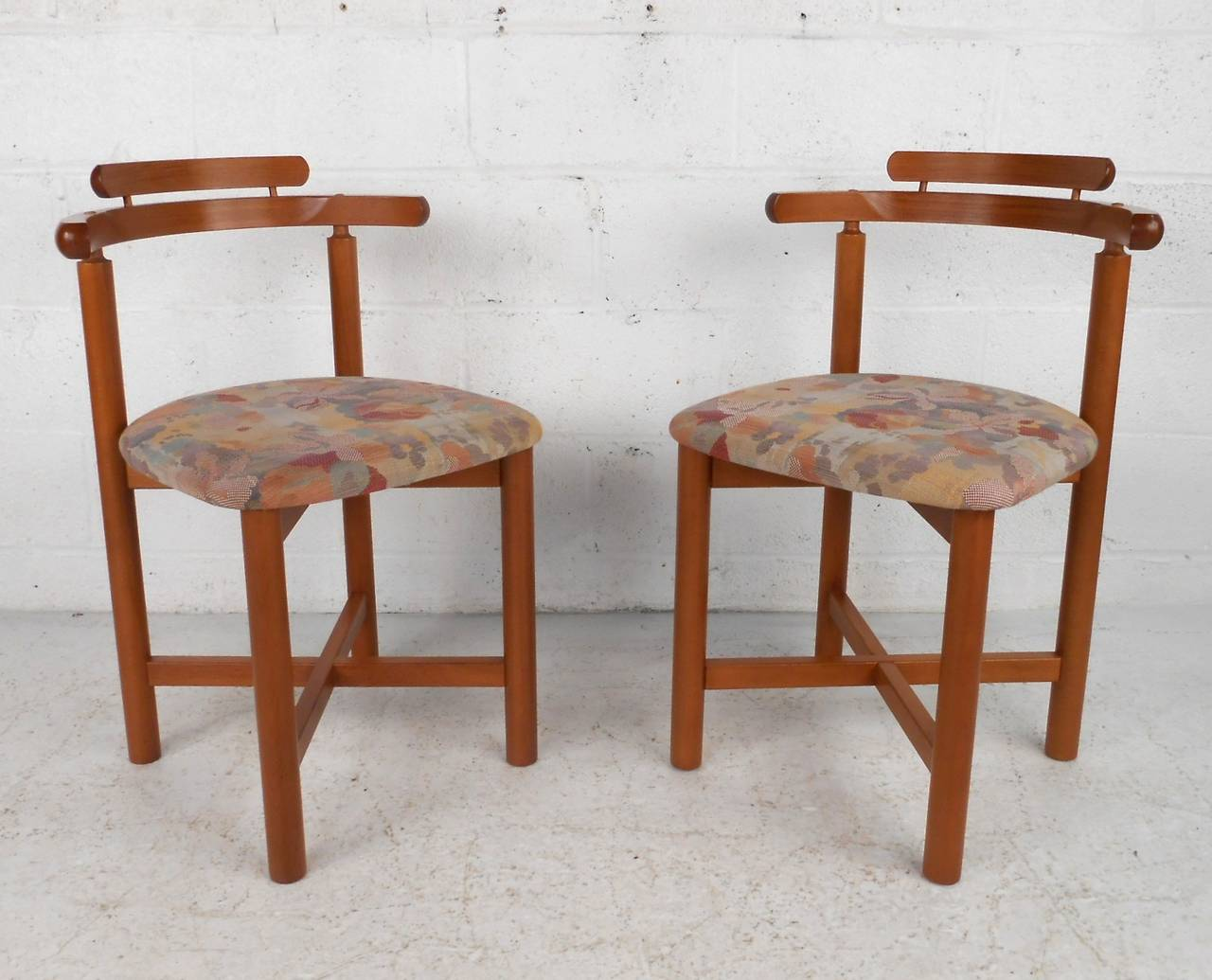 Danish Modern Dining Chairs For Sale Set Of Mid Century Modern Style Danish Teak Dining Chairs By Gangso Mobler