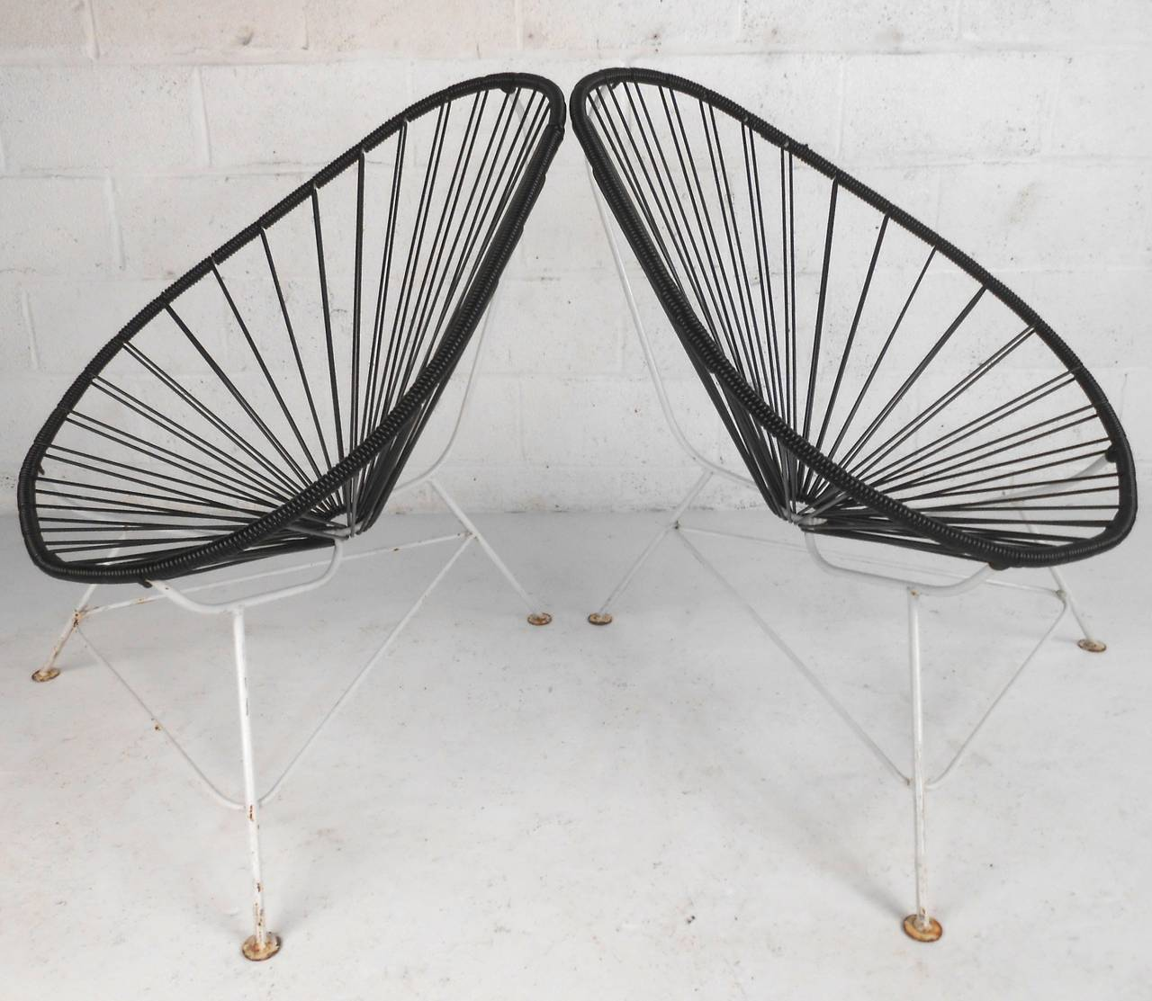 Acapulco Chair For Sale Pair Mid Century Modern Acapulco Chairs For Sale At 1stdibs