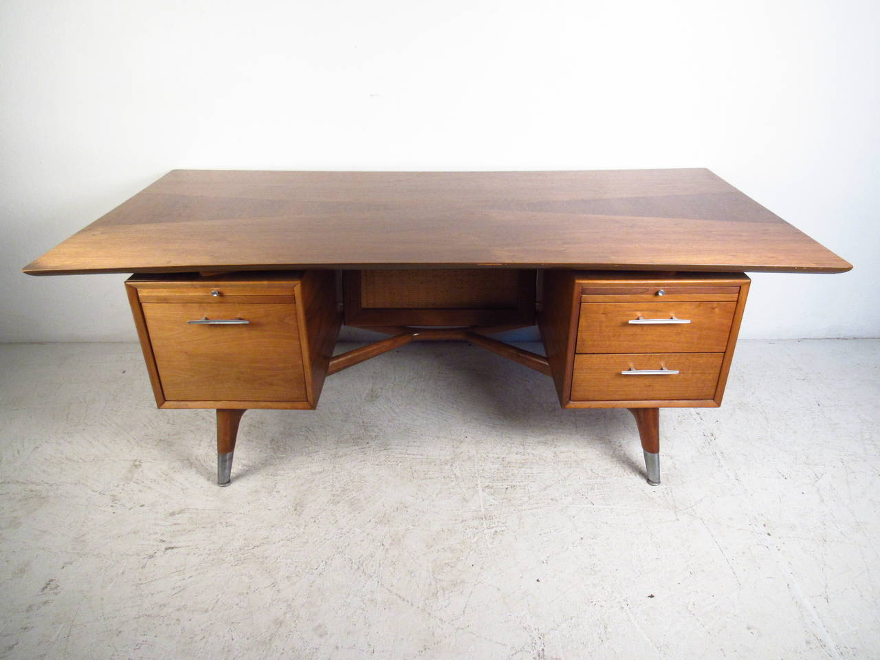 Beautiful Executive Desk Exquisite Mid Century Modern Adrian Pearsall Style