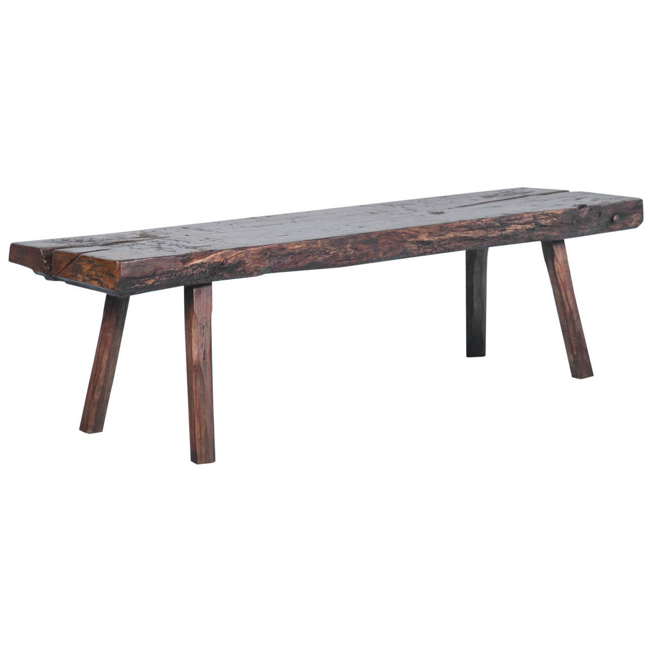 Long Slim Coffee Table Rustic Antique Narrow Coffee Table Circa 1820 1830 At 1stdibs