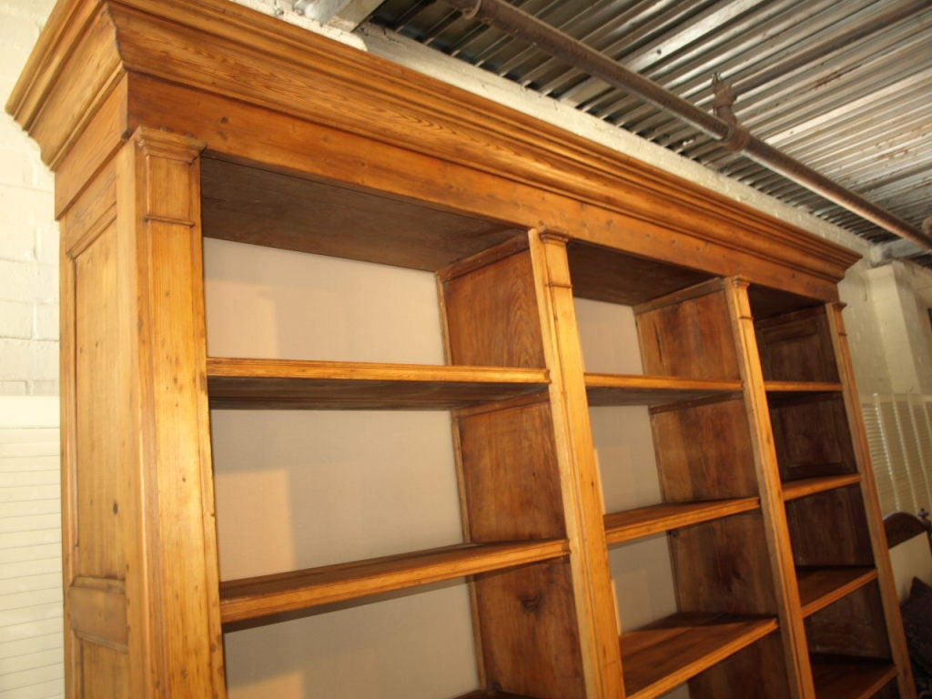 Exceptionally Large 19th Century Directoire Style Bookcase