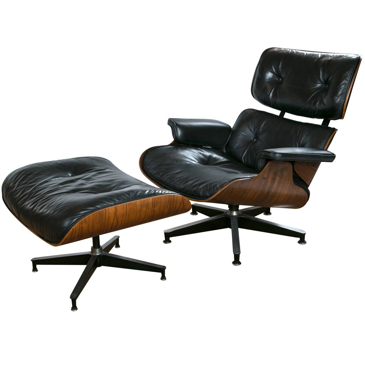 Eames Chairs Qld Vintage Eames Lounge Chair And Ottoman At 1stdibs