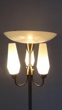 Modernist Bauhaus floor lamp by W.H. Gispen The ...