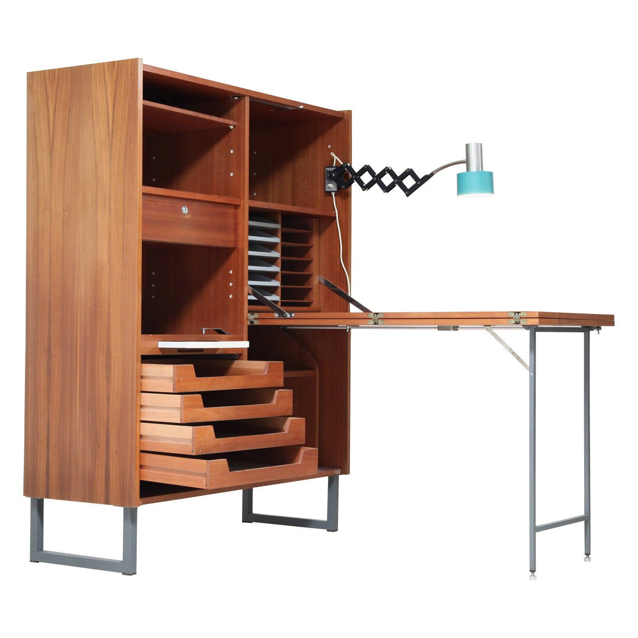 Fold Out Desk Fold Out Desk For Sale At 1stdibs