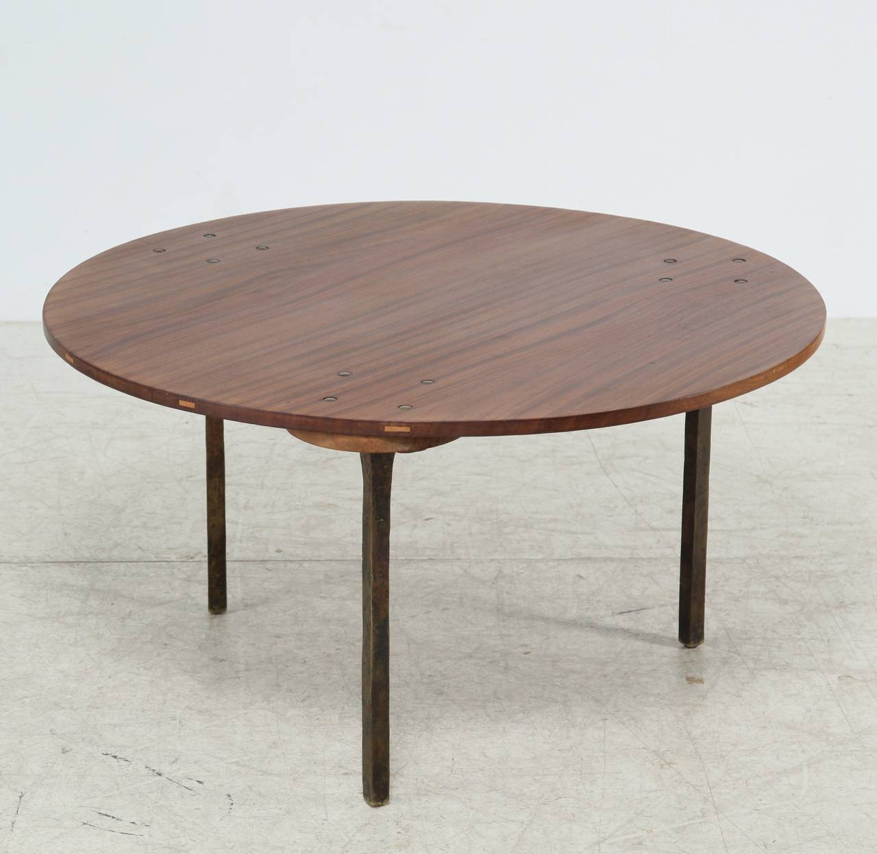 Sculptural Coffee Tables Sculptural Coffee Table By Paul Dierkes With Bronze Legs
