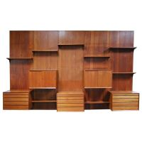 Modular Wall Unit by Poul Cadovius at 1stdibs