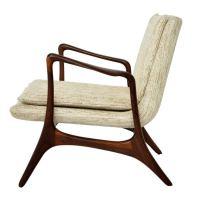 Vladimir Kagan Sculptural Lounge Chair at 1stdibs