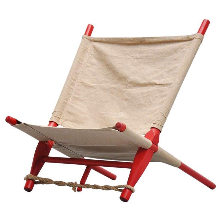 Ole Gjerlov Knudsen Saw Lounge Chair Cado 1958 At 1stdibs