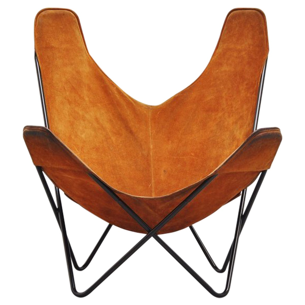 Butterfly Chair Knoll Butterfly Chair By Jorge Hardoy Ferrari For Knoll 1970