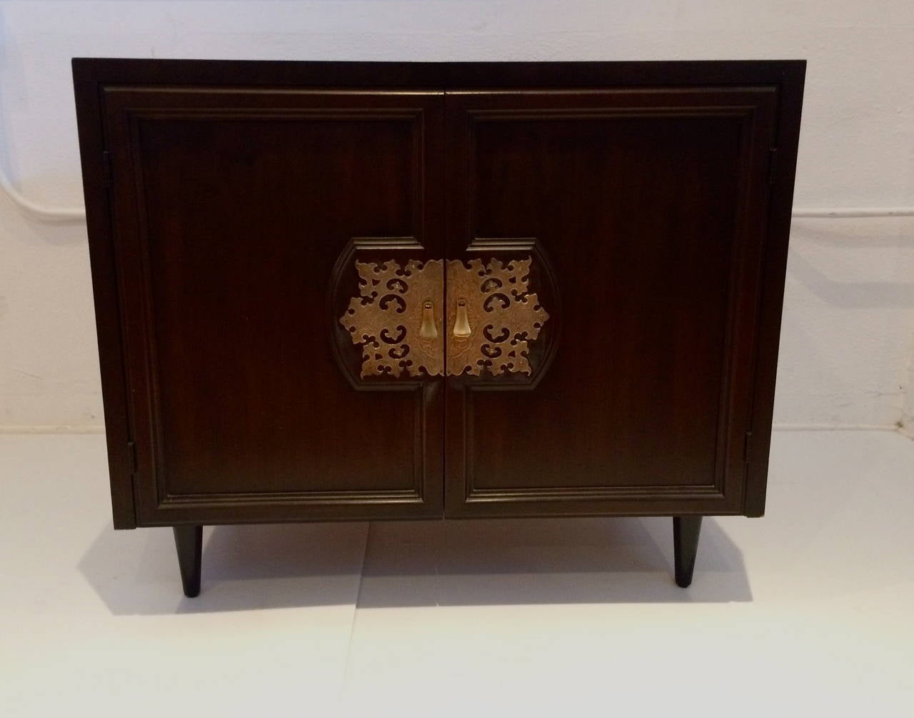 Asian Modern Small Cabinet Designed By Bert England For