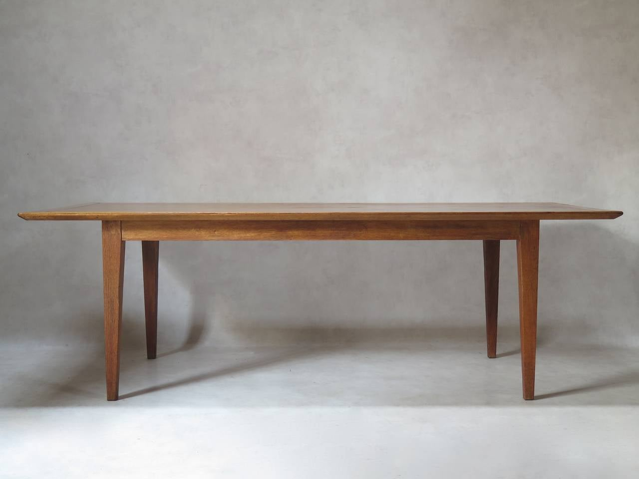 Japanese Dining Table For Sale Japanese Inspired Oak Credenza And Dining Table By Colette