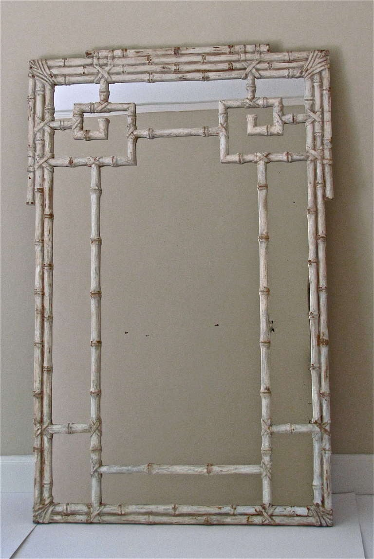 Large Wall Mirrors Huge Itailian Carved Wood Faux Bamboo Wall Mirror