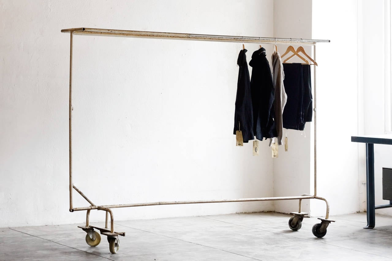 Industrial Clothing Rack Best Wooden And Metal Clothing